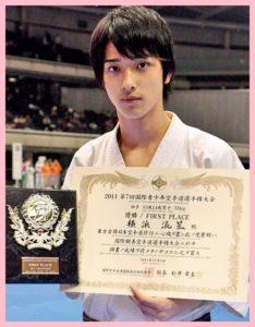 横浜流星は空手世界大会で優勝